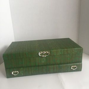 Vintage Lady Buxton Large Jewelry Box!